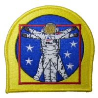 EVA Shuttle Space Station Spacewalk Patch